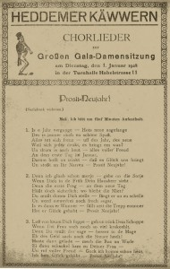 Damensitzung 1928