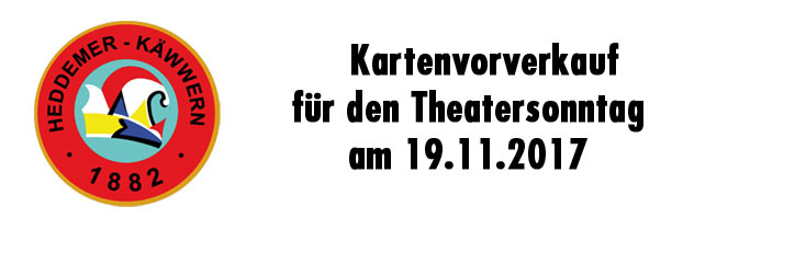 Theatersonntag